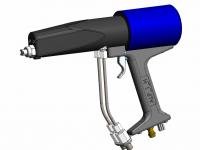 ALP_01/H  Airless Handpistole mit 2 K Mischung in der Pistole