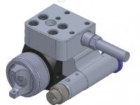 2 C component automatic gun