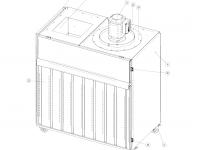Farbspritzwand Compact SW-100c