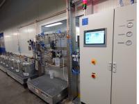 2 K Automatik System,  Versorgung wasserlösliches System