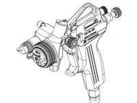 HS-30 2 Komponenten Pistole mit Außenmischung