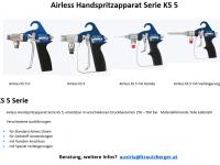 Airless Handspritzapparat Serie KS 5