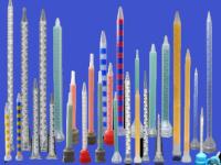 statische Mischer in verschiedenen Ausführungen Kunststoff/Edelstahl
