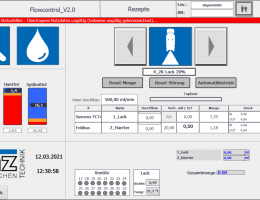 start screen  FC Software